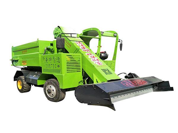 9QF-3牛场清粪车实施粪肥还田的结构与使用方法